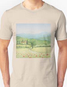 Tuscan Vineyard, Tuscany, Italy T-Shirt