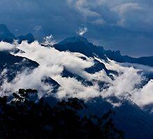 clouds on Corni di canzo by mario farinato