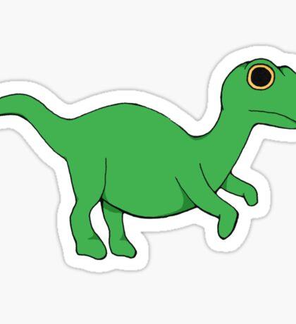 Tiny velociraptor Sticker