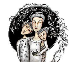 Ma mère by Jenny Wood