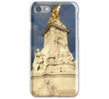 Victoria Memorial Statue Summer The Mall London  iPhone Case/Skin