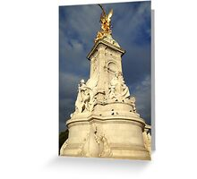 Victoria Memorial Statue Summer The Mall London  Greeting Card