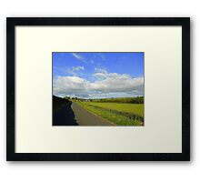 An August Evening........................Ireland Framed Print
