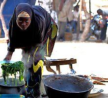 Village cafe. Kebbe State. Nigeria. by joshuatree2