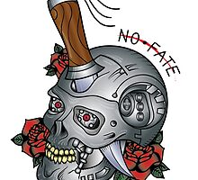 Terminator T800 Tattoo Flash by EverlastingGaze