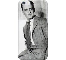 F. Scott Fitzgerald iPhone Case/Skin