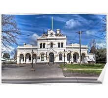 Clunes Historic Town Hall Poster