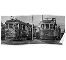 Old Trams HDR Poster