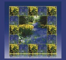 Keukenhof Gardens - Flower Lane Collage T-Shirt