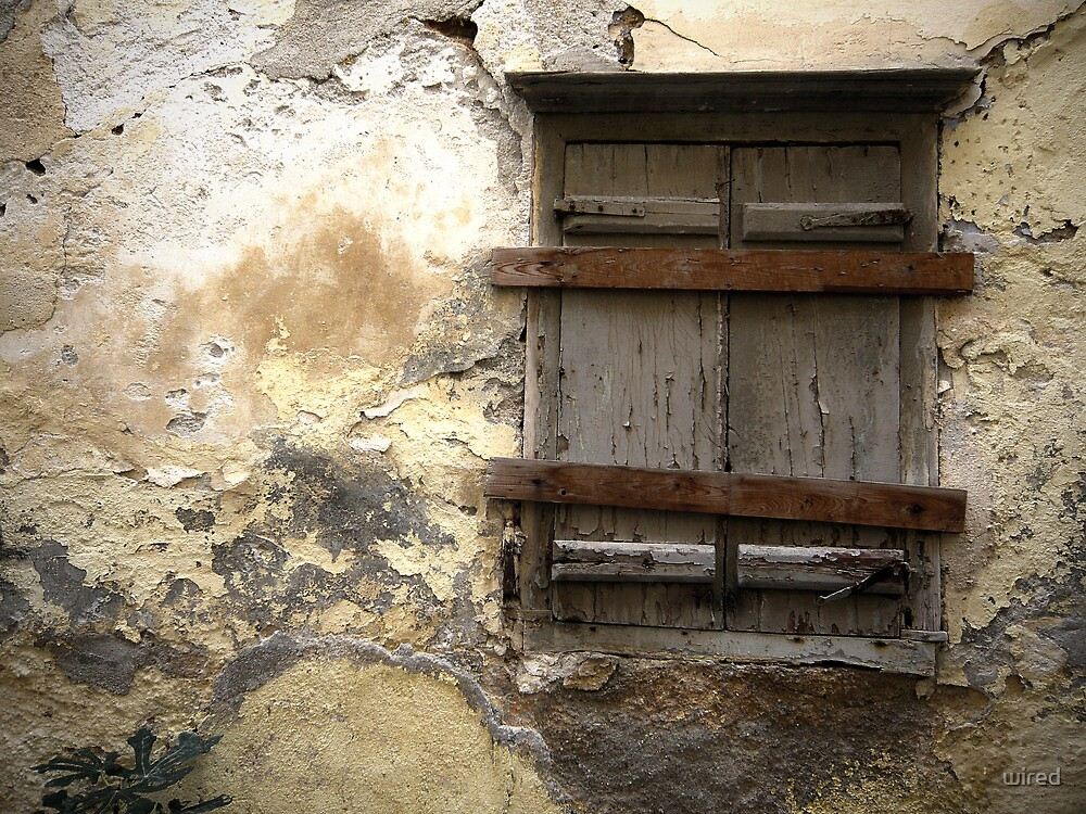 Old Window by wired