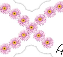 AChio Purple Flower Infinity Sticker