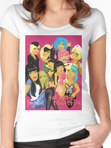 Barbie Collection Women's Fitted Scoop T-Shirt