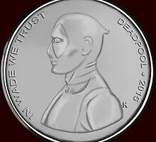 Deadpool Coin 01 by SapphireTomoe