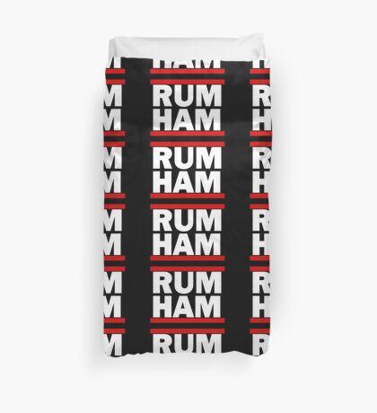 RUM HAM Duvet Cover