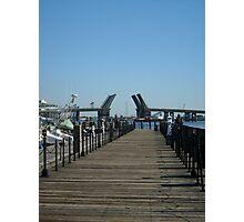 Waterside Dock, Norfolk, VA Photographic Print