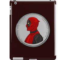 Deadpool Coin 04 iPad Case/Skin