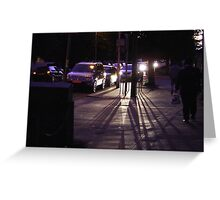 Nightlines Greeting Card