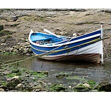 Double Ender Fishing Boat , Staithes Photographic Print