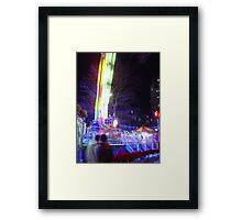 Uploader Framed Print