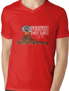 Pompeii Fun Run Mens V-Neck T-Shirt