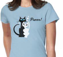 Purrr! Womens Fitted T-Shirt