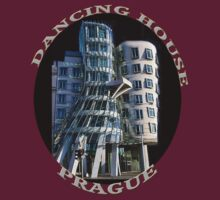 *•.¸♥♥¸.•*The Dancing House Prague TEE SHIRT WITH TEXT*•.¸♥♥¸.•* by ✿✿ Bonita ✿✿ ђєℓℓσ