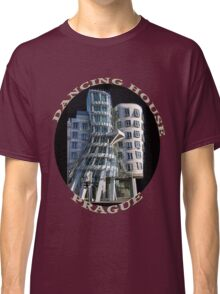 *•.¸♥♥¸.•*The Dancing House Prague TEE SHIRT WITH TEXT*•.¸♥♥¸.•* Classic T-Shirt