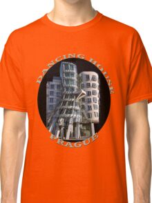 *•.¸♥♥¸.•*The Dancing House Prague TEE SHIRT WITH TEXT*•.¸♥♥¸.•* Classic T-Shirt