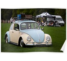 VW Beetle Poster