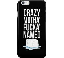 Ice Cube White iPhone Case/Skin