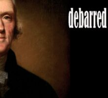 Jefferson on Guns Sticker