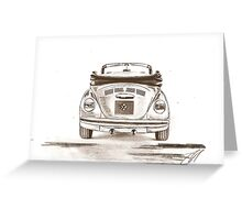 top to tail Greeting Card
