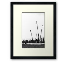 Where is that filter! Framed Print
