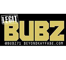 Beyond Kayfabe Podcast - Like A BUBZ Photographic Print