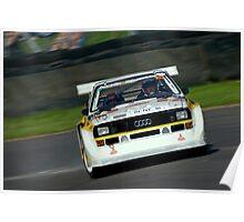 Audi Quattro powerslides Poster