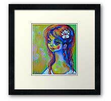 The child born in May Framed Print