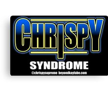 Beyond Kayfabe Podcast -  Chrispy Syndrome Canvas Print