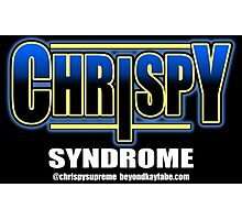 Beyond Kayfabe Podcast -  Chrispy Syndrome Photographic Print