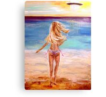 And then there was a UFO Canvas Print