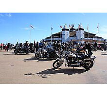 Motorcyclist Convention Photographic Print