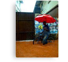 Rain in Freetown III Canvas Print
