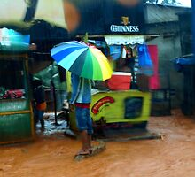 Rain in Freetown IV by heinrich