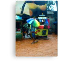 Rain in Freetown IV Canvas Print
