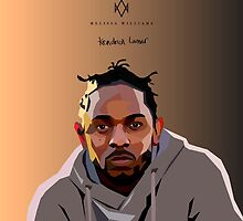 Kendrick Lamar by Melissa Williams