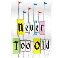 Never too Old 1955 Poster
