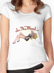 In The Mood Women's Fitted Scoop T-Shirt