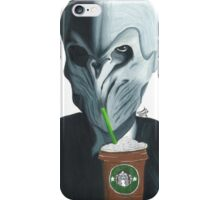 Silence in the Starbucks - Hand-drawn iPhone Case/Skin