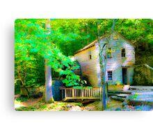 Grist mill  Canvas Print