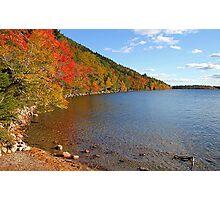 'Fall Color at Jordan Pond' Photographic Print
