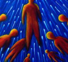 Infinite Journey - Fine Art Painting Sticker